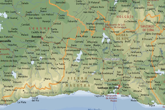 Mapas de Cuba  HospedajeCubanocom  Renta de Habitaciones y